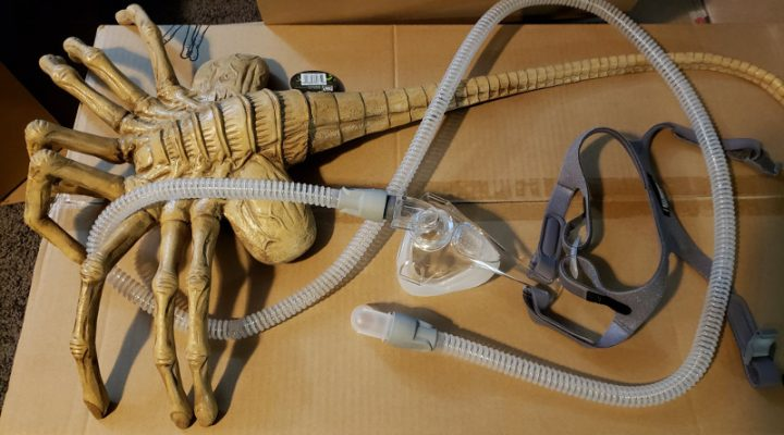Tinker Gnome: CPAP Facehugger